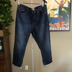{J.CREW} Cropped Jeans Size 33